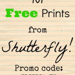 101 Free 4×6 Prints {from Shutterfly}