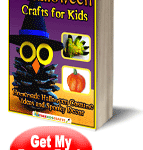Free {Halloween Crafts for Kids} E-book!