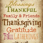A Thanksgiving Printable {from me}